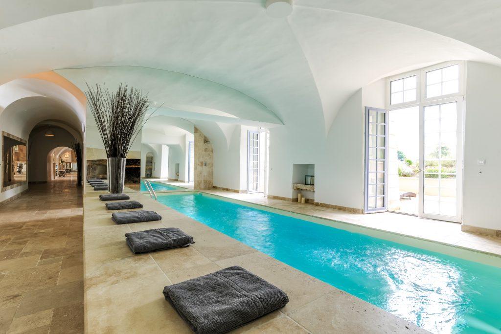 Notre piscine intérieure
